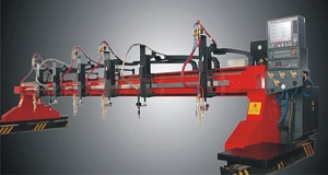 Переносная машина с ЧПУ для термической резки металла портального типа SDYQ 3000х9000